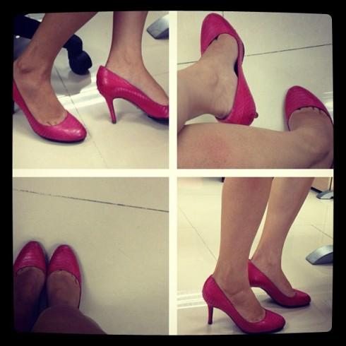 Tình yêu với giày không bao giờ thay đổi
