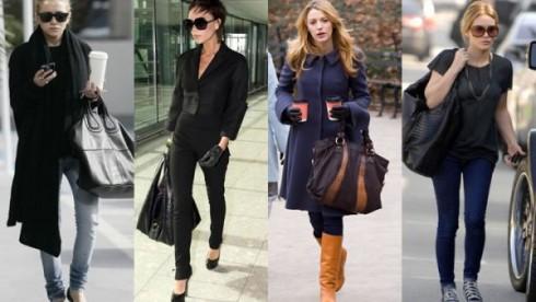 """Hàng loạt các chiếc túi ngoại cỡ với nhiều kiểu dáng và công dụng khác nhau được tung ra thị trường. Nhà thiết kế Devil Kroell cho biết thêm: """"Có quá nhiều thứ dư thừa. Vì vậy mọi người cần những chiếc túi cực lớn và quan trọng là chúng phải mang vẻ khác biệt."""""""