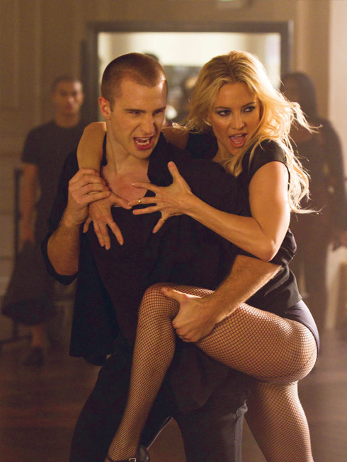 Kate Hubson với vai cô giáo dạy nhảy cá tính trong Glee