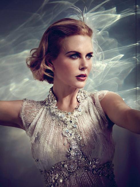 Nữ diễn viên Nicole Kidman thủ vai Grace Kelly trong phim Grace of Monaco - tác phẩm của đạo diễn người Pháp Olivier Dahan và kịch bản được viết bởi Arash Amel.