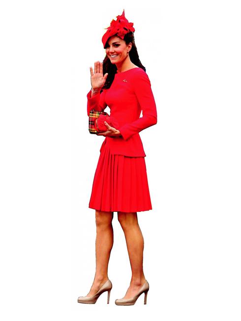 Q. Queen For A Day - Phong cách thanh lịch<br/>Vừa mới gia nhập Hoàng gia Anh không lâu, Kate Middleton đã trở thành biểu tượng thời trang cho phụ nữ trên khắp thế giới. Cô tỏa sáng nhờ phong cách thời trang thanh lịch, tiêu biểu là chiếc đầm đỏ McQ
