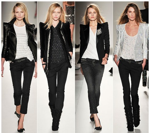balmain-fall-2009-blazer-skinny-pants