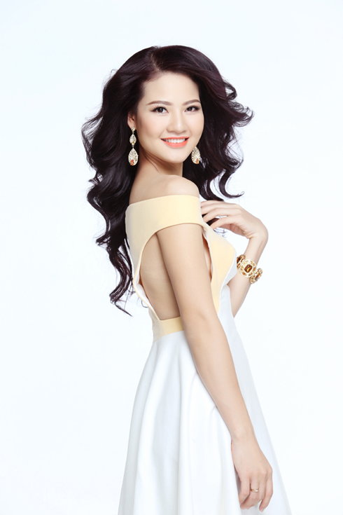 Hoa hậu Trần Thị Quỳnh