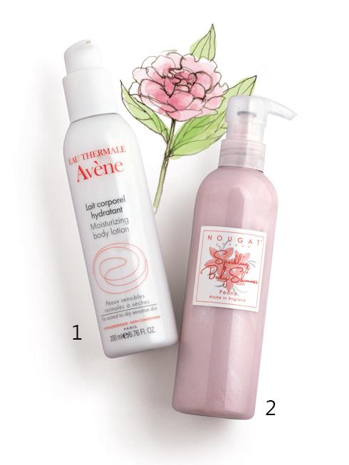 INNOVATIVE STAR <br/><br>1.Avène Moisturizing Body Lotion: Sữa dưỡng thể dành cho da thường đến khô và da nhạy cảm. Công thức của sữa chứa nước khoáng Avène lập tức làm dịu và giảm kích ứng. Tinh dầu thiên nhiên ở nồng độ cao giúp làm mềm, giữ ẩm và duy trì độ ẩm cho da. <br>  2.Nougat Sparkling Body Shimmer: Gel dưỡng thể có ánh nhũ giúp làn da thêm lấp lánh và rạng rỡ. Khi gel thấm vào da để lại cảm giác ẩm mượt và hương thơm dễ chịu của hoa mẫu đơn.