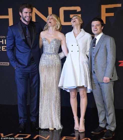 Bộ tứ của Hunger Games
