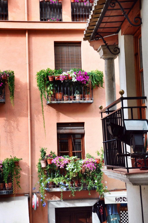 Những ban công rực rỡ hoa có thể thắp sáng cả góc phố Granada (Tây Ban Nha)
