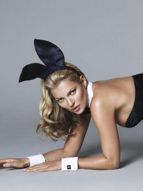 Kate Moss khỏa thân trong tạp chí Playboy