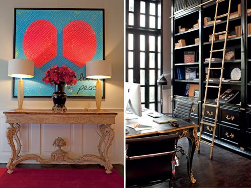 Trong không gian kiến trúc đậm chất Đông Dương, những món đồ nội thất anh chọn để đặt vào đó đã tái hiện một quãng lịch sử xuyên suốt mà ngôi nhà đã từng trải qua.