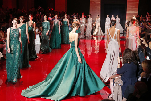 BST Haute Couture của Elie Saab trong Tuần lễ thời trang Paris 2013