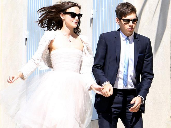 Đầm cưới ấn tượng của sao thế giới năm 2013