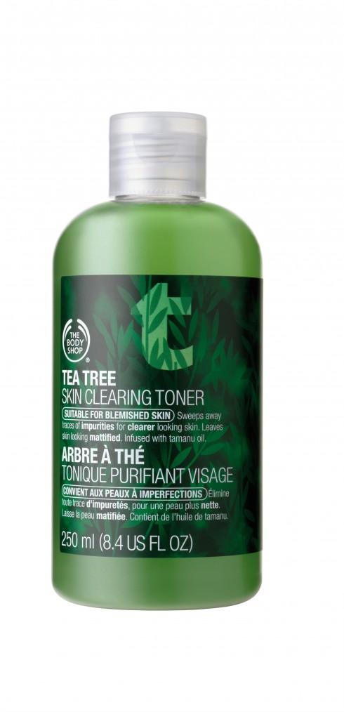Nước lotion chứa tinh chất trà xanh giúp kiểm soát bã nhờn và trị mụn của The Body Shop