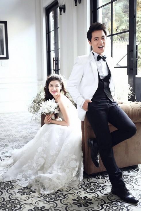 Những bức ảnh cưới ngọt ngào của Đăng Khôi - Thủy Anh