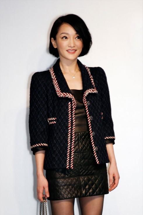 Tại một bữa tiệc của Chanel ở Nhật năm 2012