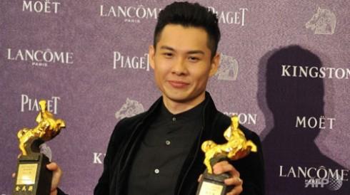 Đạo diễn AnthonyChen nhận giải Kim Mã