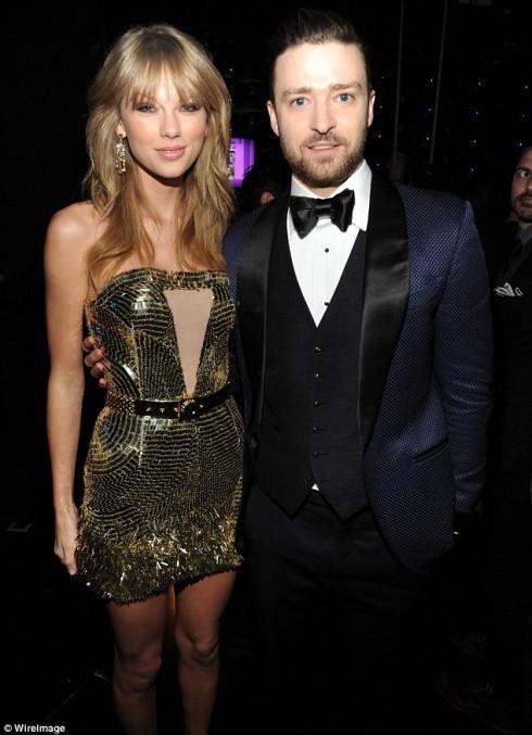 Ca sĩ Taylor Swift và Justin Timberlake