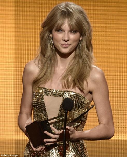 Nữ ca sĩ Taylor Swift