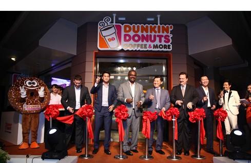 Cửa hàng Dunkin' Donuts đầu tiên ở Việt Nam.