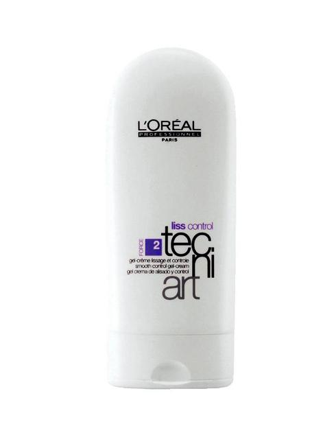 Kem tạo kiểu và giữ nếp tóc Liss Control Smooth Control Gel-Cream của L'Oréal Professionnel<br/>Dùng cho tóc ẩm để mái tóc nhìn tuy rối nhưng vẫn đẹp và bóng.