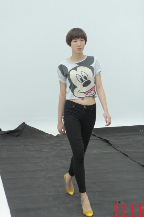 Người mẫu Huỳnh Nu