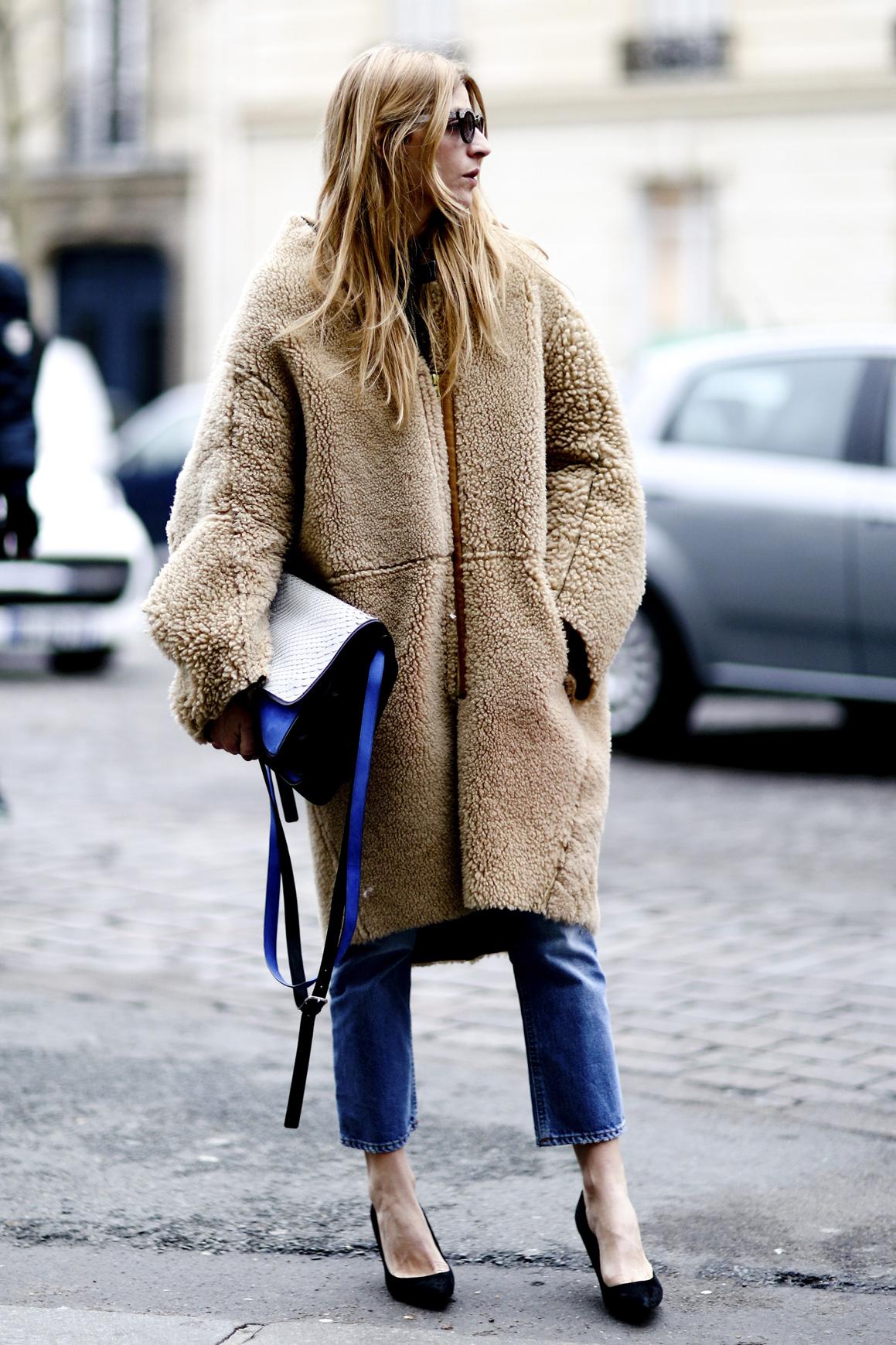 Xu hướng áo khoác ngoại cỡ (oversized coats)