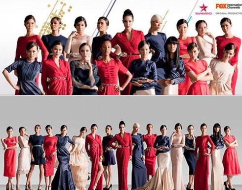 16 thí sinh của Asia's Next Top Model cùng host của chương trình năm nay