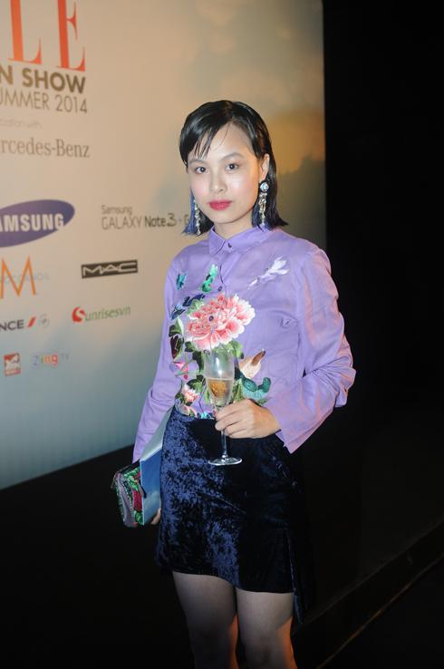 Stylist Kim Tuyến