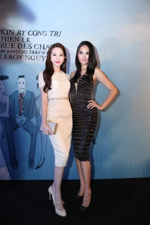 Hoa hậu Thu Thảo và Hoa hậu Hương Giang