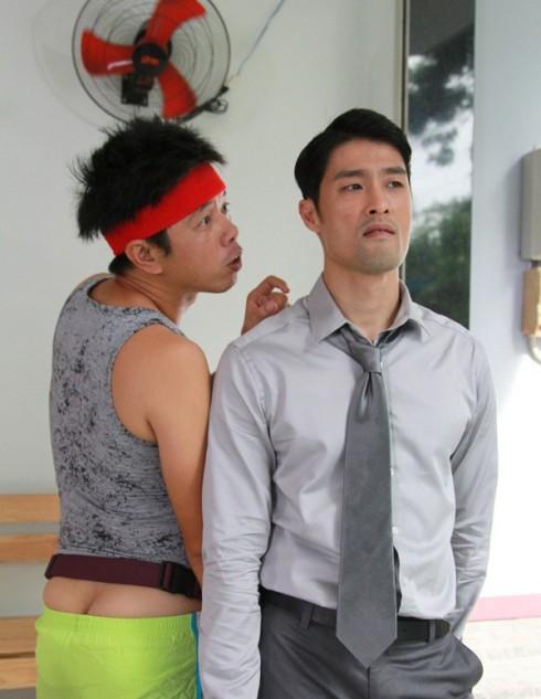 Johnny Trí Nguyễn và Thái Hòa trong Tèo Em