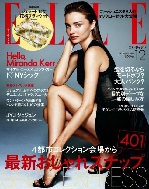 Bìa tạp chí ELLE Nhật Bản số tháng 12, 2013