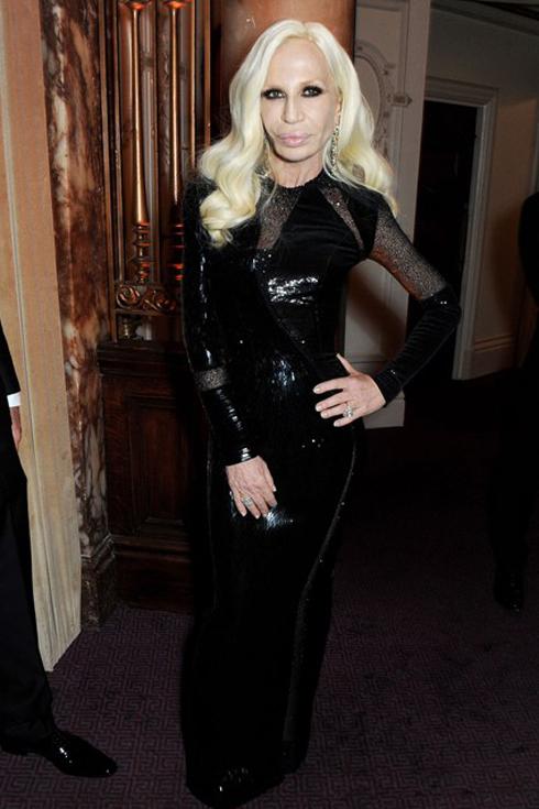 Nhà thiết kế Donatella Versace