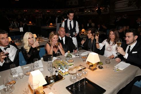 Bữa tiệc V.I.P trong khuôn khổ Lễ trao giải Thời trang Anh.