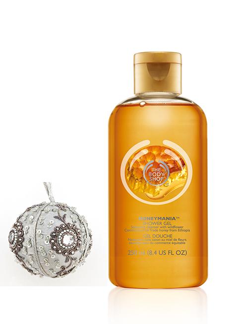 Sữa tắm Honey Mania mùi mật ong mới nhất của THE BODY SHOP (209.000 VNĐ)