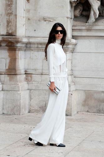 Street Style Tuần lễ Thời trang Paris Xuân-Hè 2014