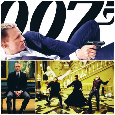 Phiêu lưu, súng ống, phụ nữ đẹp, cuộc sống xa hoa, vẻ ngoài lịch lãm, đàn ông cần gì, 007 có cái đó. Ma trận, bộ phim đi trước thời đại về thế giới số.