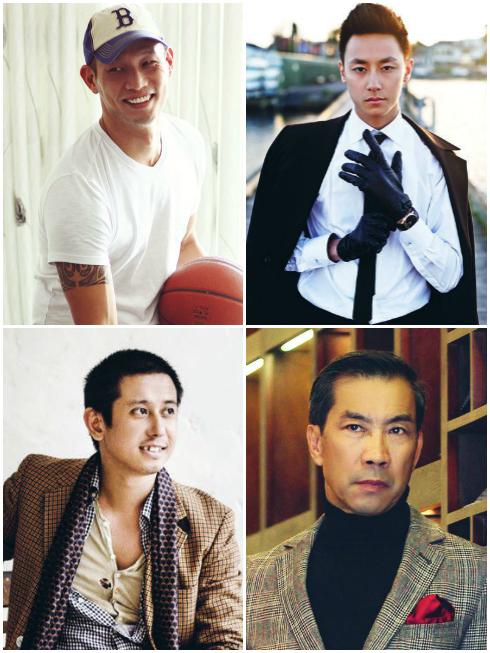 Men of style: Rocker Nguyễn, Hoàng Anh, James Li & Thuận Nguyễn