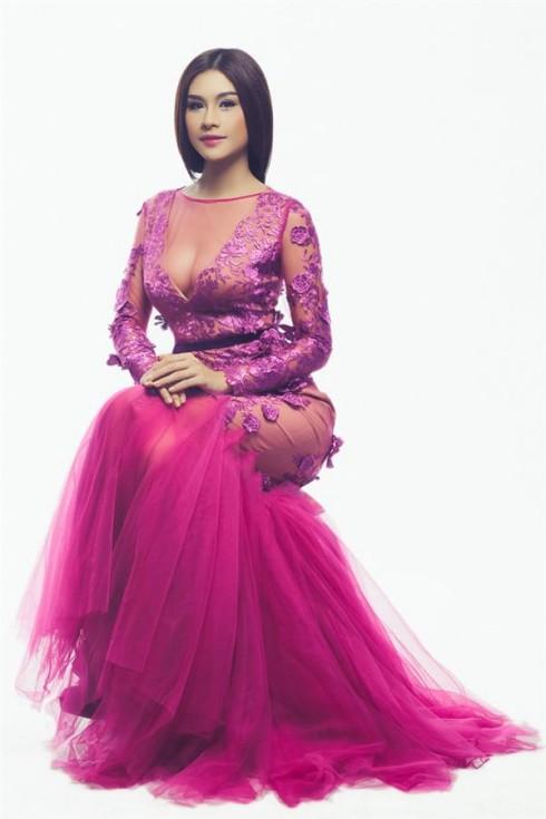 Nữ hoàng trang sức Lô Hương Trâm đại diện Việt Nam thi Hoa hậu Quốc tế