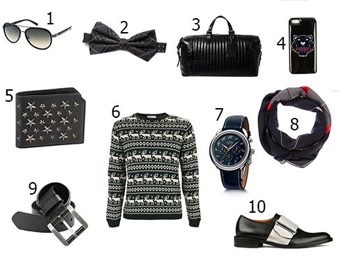 1. Calvin Klein - 2. Tommy Hilfiger - 3. Ralph Lauren - 4. Kenzo - 5. Jimmy Choo - 6. Topshop - 7. Hermès - 8. Givenchy - 9. Gap - 10. Givenchy