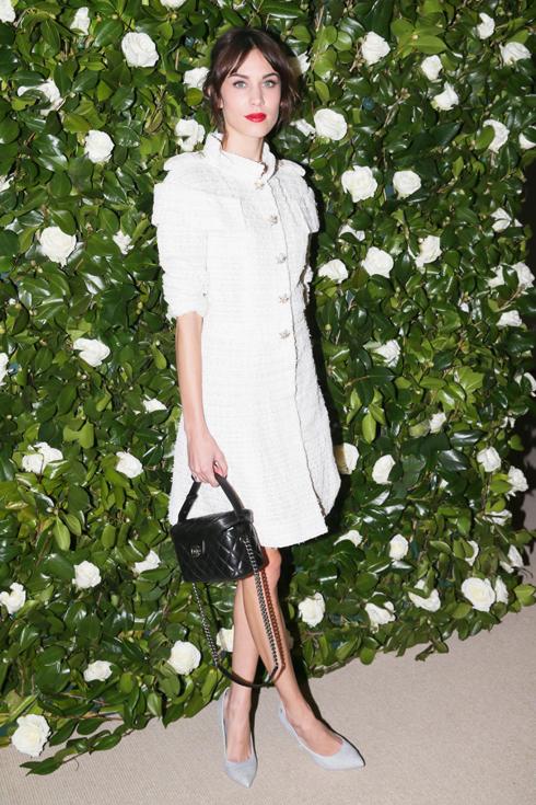 Siêu mẫu Alexa Chung.