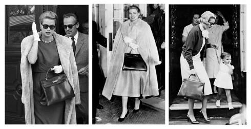Chiếc túi được nữ diễn viên xinh đẹp Grace Kelly rất yêu thích và cầm che ngang bụng trong thời kỳ mang thai trước cặp mắt tò mò của cánh paparazzi. Đó là vào năm 1956. Với một công nương hoàn toàn mới của công quốc Monaco, sự ngại ngùng chưa muốn công bố với thế giới về lần đầu mang thai ấy cũng là điều đương nhiên. Những bức ảnh chụp cô trong chiếc đầm xòe, áo khoác lông ngoại cỡ và chiếc túi trước bụng nhanh chóng truyền đi khắp thế giới.