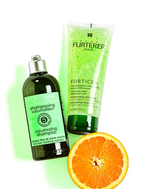 Dòng Sensual<br/>Dầu gội Aromachologie – L'OCCITANE Dầu gội dành cho tóc chắc khỏe  không chứa silicone. Công thức chứa 5 loại tinh dầu  và hợp chất thực vật tự nhiên giúp tóc chắc khỏe, phồng tự nhiên.  <br> <br> Dầu gội Forticea – RENE FURTERER Dầu gội đầu ngăn ngừa rụng tóc chứa tinh dầu cam, oải hương, tinh dầu lá hương thảo, vitamin… giúp tăng cường và kích hoạt vi tuần hoàn của da đầu, cân bằng da đầu, mái tóc trở nên chắc khỏe hơn.  (583.000 VNĐ)