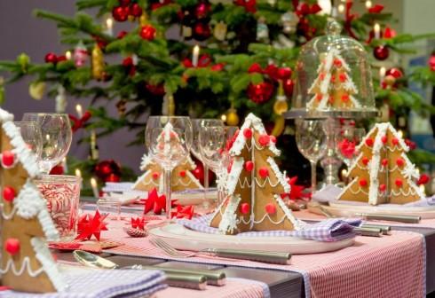 Những họa tiết caro sẽ mang đến hơi ấm cho những món ăn.