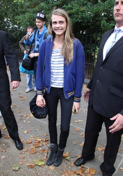 Cara tại Tuần lễ Thời trang London 2012