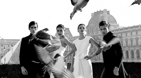 Hình ảnh top 4 trong hình hiệu Vietnam's Next Top Model