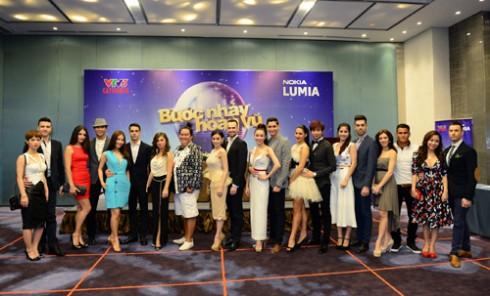 Các nghệ sĩ sẽ tham gia Bước nhảy hoàn vũ 2014