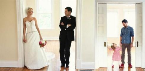 Bộ ảnh Ben chụp cùng con gái để nhớ về những bức hình cưới với người vợ đã khuất