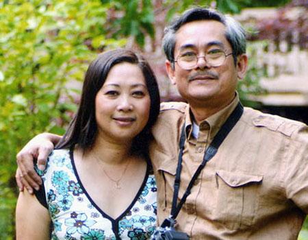 Bức ảnh đời thường của cặp đôi nghệ sĩ Phương Thanh - Anh Dũng
