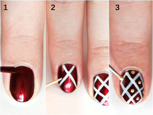 Holiday nails copy