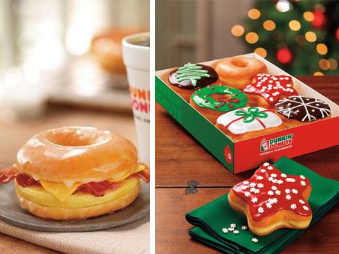 Donut sandwich độc đáo chỉ có duy nhất tại Việt Nam và Bánh Donut thơm ngon cho mùa Lễ