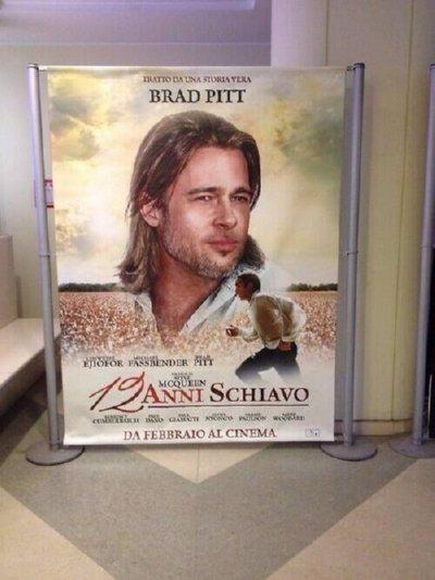 Poster mới của phim 12 years a slave tại Ý gây tranh cãi