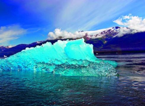 Tảng băng trôi khổng lồ Columbia.
